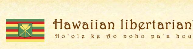 Hawaiian libertarian