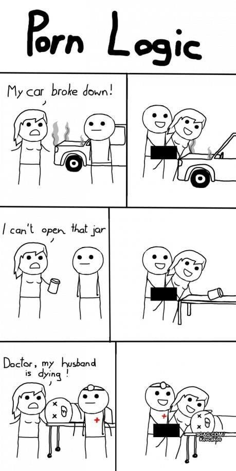 porn logic cartoon