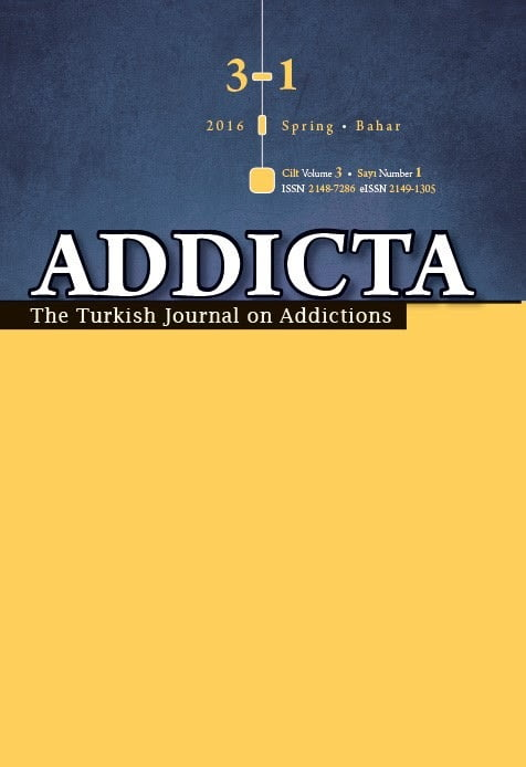 The Turkish Journal on Addictions