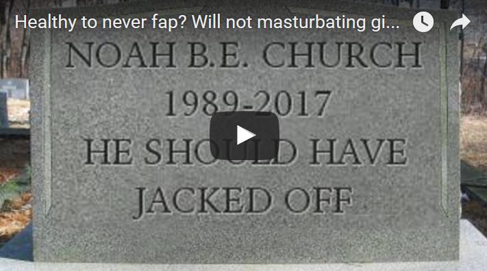 Целесообразность мастурбации в зрелом возрасте чужие