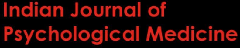 Indian Journal of Psychological Medicine