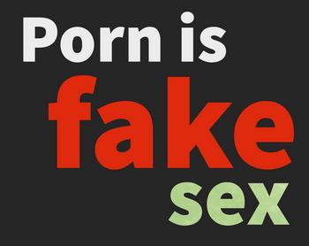 porr är falsk sex