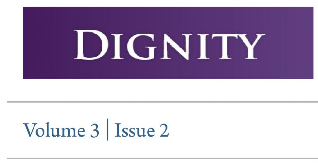 Dignity journal