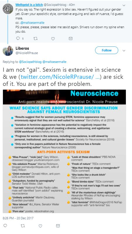 Nicole Prause's Unethical Harassment and Defamation of Gary