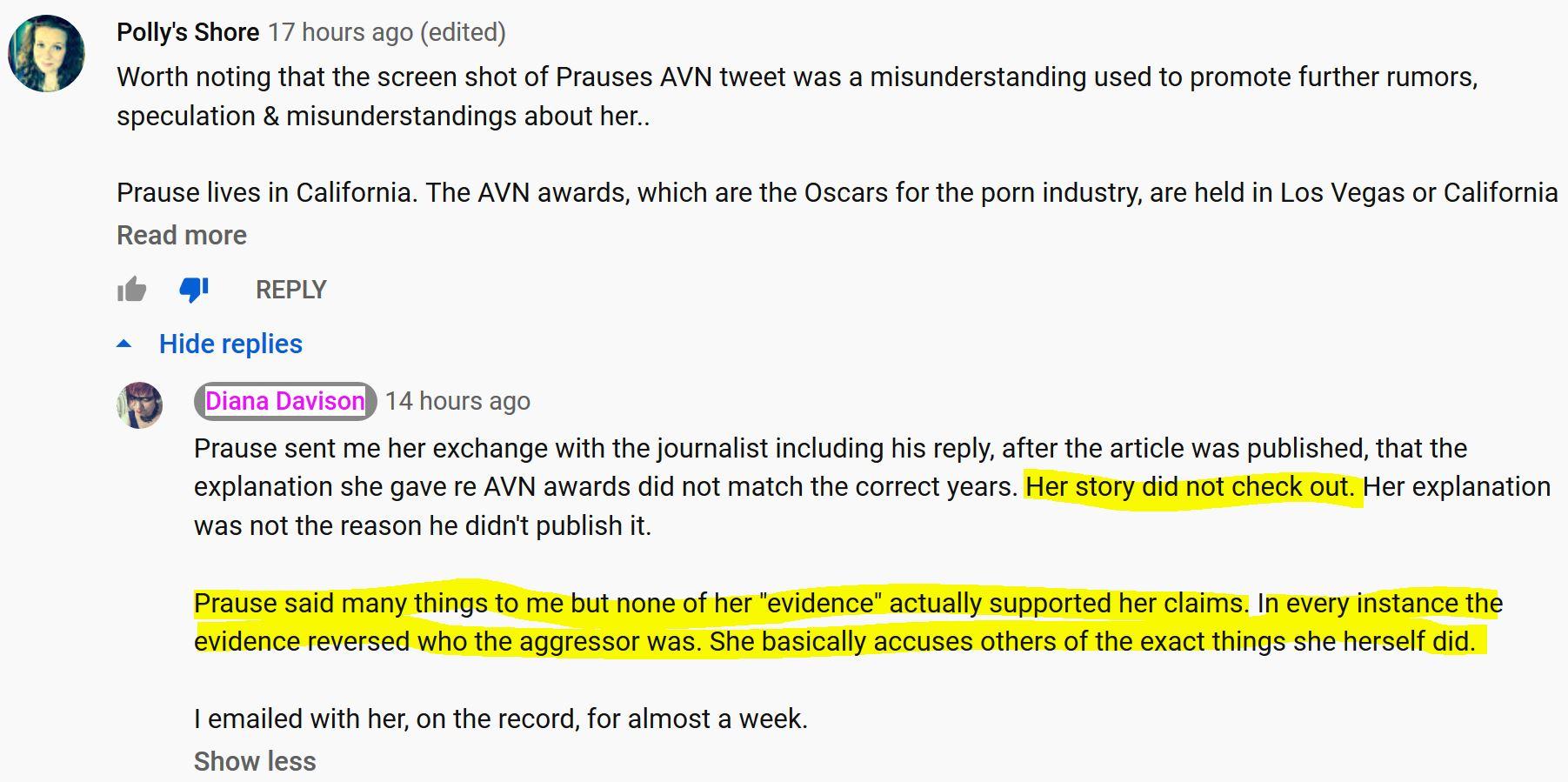 Nicole Prause's Harassment of Gary Wilson