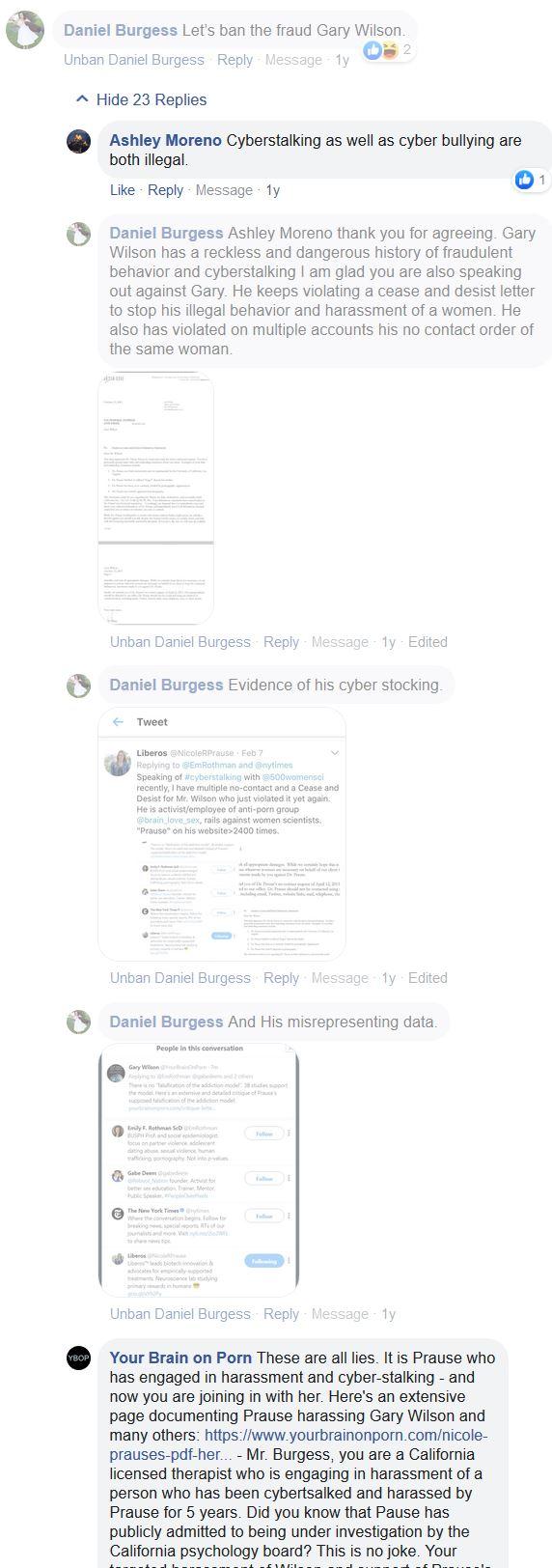 daniel a burgess LMFT owns realyourbrainonporn
