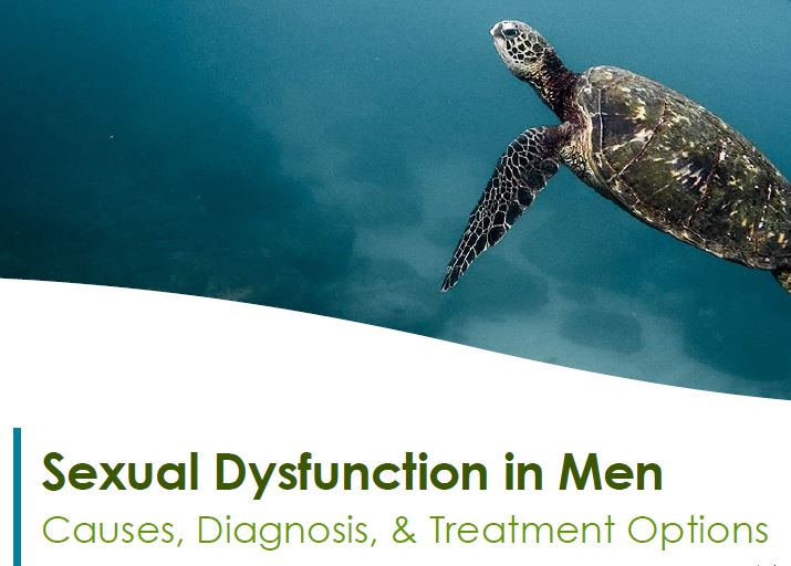 Sexual Dysfunction in Men: Causes, diagnosis and treatment options