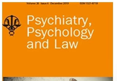 Psychiatry, Psychology and Law