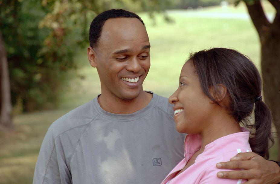 man och kvinna tillsammans