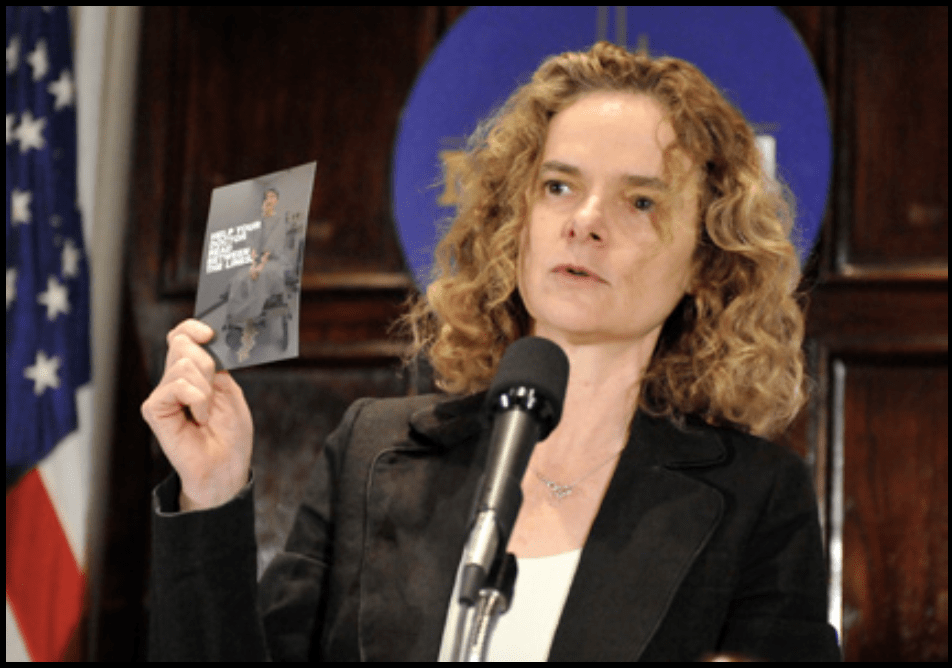 Nora Volkow, director of the National Institute on Drug Abuse